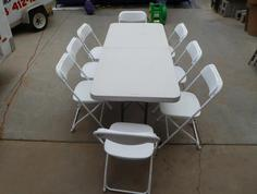 Tables Chair Rental